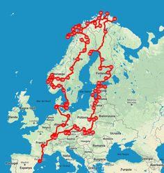Recorrido vuelta a Europa en autocaravana Hiking Places, Places To Travel, Travel Destinations, Places To Visit, Travel Around The World, Around The Worlds, Road Trip Europe, Paradise Travel, Surf Trip