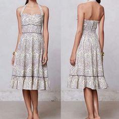 Midi Elegant Anthropologie Dress