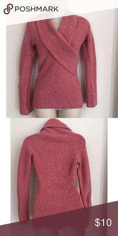 Moda International sweater cowl neck wool bled sweater in good condition Moda International Sweaters