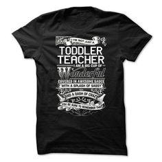 Toddler Teacher - #boyfriend gift #gift for teens. LIMITED TIME => https://www.sunfrog.com/LifeStyle/Toddler-Teacher-63530356-Guys.html?68278