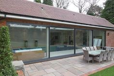 Solarlux Cero frameless sliding glass doors now available. Thames Valley Windows installs the first Cero II in the UK! Call 0800 181 698 for a free quote. Sliding Glass Door, Sliding Doors, Glass Doors, External Bifold Doors, Grey Windows, Window Company, Showroom Design, Front Door Design, New Builds