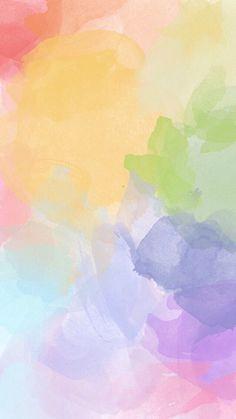 Galaxy Wallpaper # Pastel, Watercolor - Galaxy, wallpaper 451 glitters, pastels and watercolors - Pastel Iphone Wallpaper, Iphone Background Wallpaper, Aesthetic Iphone Wallpaper, Colorful Wallpaper, Aesthetic Wallpapers, Iphone Wallpapers, Tan Wallpaper, Iphone Backgrounds, Trendy Wallpaper