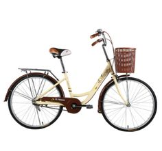 ALTRUISM Q3 City Bike 24 Inch Road Bikes Retro Bike Bicicleta Bisiklet Ladies Bicycle Aluminum Bicycle Rear Drum Brake