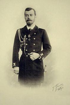 """Tsarevich Nicholas Alexandrovich Romanov of Russia,later Tsar Nicholas II in 1893. """"AL''"""