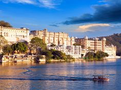 UDAIPUR, INDIA: The Oberoi Udaivilas in Udaipur took the No. 1 spot on Travel + Leisure's list of the best hotels in the world this year. The city is home to fantastic palaces and colorful streets filled with ancient bazaars that are just waiting to be explored.