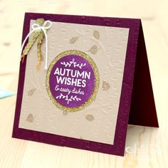 Among the Branches - Stampin' Up! Artisan Blog Hop / Create with Kaitlyn