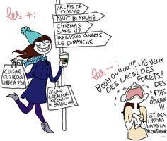 Qu'est ce que tu aimes le plus dans ta vie de Parisienne et ce qui t'énerve le plus ?