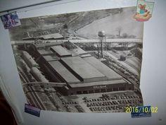 Unframed 1940-50s Whirlpool Corporation Aerial Photo Antique, St. Joe Mi USA #Whirlpool