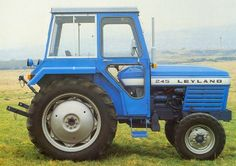 Leyland 245-270 - Machine Data Agriculture Tractor, Farming, Classic Tractor, Old Tractors, Workshop, Childhood, Prints, Manual, Tractor