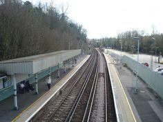Upper Warlingham Railway Station (UWL) in Whyteleafe, Greater London