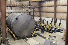 Tank Manufacturing Equipment Upgrade Results in 50% Less Cycle Times