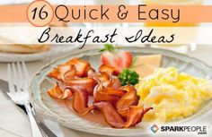 Quick and Healthy Breakfast Ideas via @SparkPeople