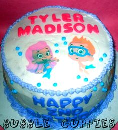 bubble guppies birthday party | Kecantikan Bubble Guppies Birthday Party Cake Decorating Ideas ...