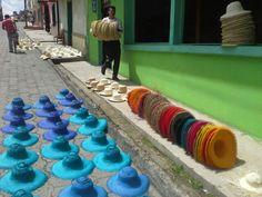 Sombreros en toquilla Sandona