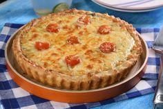 Quiche de Atún con Pasta Hojaldre Fácil   https://lomejordelaweb.e