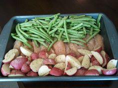 One Pan Italian Roast Chicken Breast & Veggies   The Hungry Hugheys
