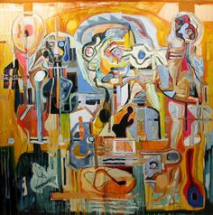 Harold Klunder Born in Holland, Harold Klunder lives and work in Ontario and has exhibited his paintings and prints in numerous solo and group exhibitions, both Canadian Artists, Cubism, Visual Arts, Art School, Painting Inspiration, Color Splash, Surrealism, Folk Art, Centre