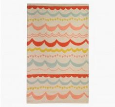 Add color and whimsy to the kids room with this adorable rug. Use code OHBABY for up to 40% off select baby items #Sale