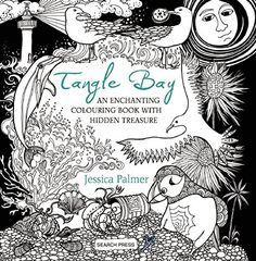 Tangle Bay by Jessica Palmer - Colour with Claire Colouring Book Review
