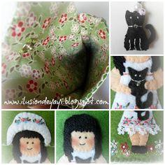 De Todo Un Poco: FUNDAS MÓVIL Felt Case, Kids Rugs, Decor, Tela, Mobile Cases, Kitty, Decoration, Kid Friendly Rugs, Decorating