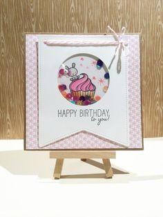 Resultado de imagen para cupcake shaker card