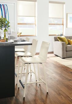 Hirsch Counter U0026 Bar Stools With Leather Legs