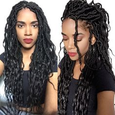 Locs are terribly time consuming but so cool youll want to awesome protective hairstyles goddess faux locs for summer 2016 solutioingenieria Image collections