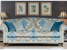 Large sofa from Queenstreet in Exeter. Beautiful sofa ranges available in store.