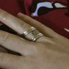 Wedded Union Ring inspired by The Mortal Instruments