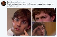 """""""I love crime, I love mysteries, and I love ghosts."""" -Stephen King Anyone who loves learning about murders and serial killers in their free time will relate hard to these hilarious true- Crazy Funny Memes, Really Funny Memes, Stupid Funny Memes, Funny Relatable Memes, Funny Stuff, Random Stuff, Dark Jokes, Dark Humour Memes, Criminal Minds Memes"""