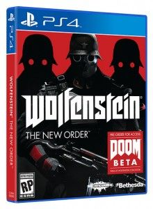 Wolfenstein: The New Order Out 5/20, Pre-order for Doom Beta AccessAbsolute Ps4