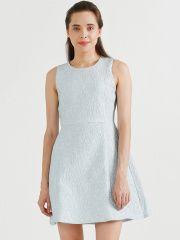 COVER STORY Blue A-Line Dress