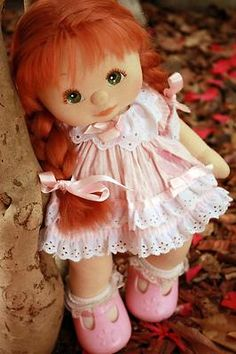 RARE UL RED MATTEL MY CHILD DOLL 'GENEVIEVE' '87