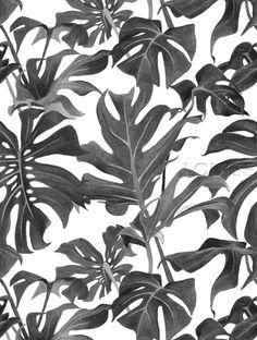 Foliage Pattern by Louise Jones