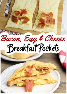 Need an AMAZING (and freezer friendly) recipe? These bacon, egg and cheese breakfast pockets are ready to eat or freeze in just 25 minutes, taste GREAT and are perfect for busy school days!