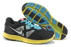 Nike Lunarglide 3 City Pack New York Black Yellow Mens Shoes