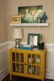 Love The Pop Of Yellow Target Windham Accent Cabinet Or Maybe This One For  The Coffee Station? Torn Between The Red And The Yellow.