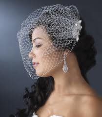 pixie bridal hairstyles with veil - Google Search