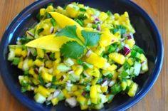 Mango & Cucumber Salsa | Real Healthy Recipes