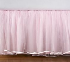 PBK tulle bedskirt... but don't think I'm paying $150 for it!  Oh no... I'm going to make one!