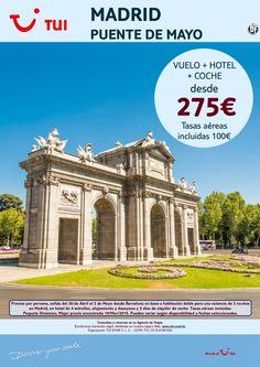 ¡Nuestra selección SMART a Madrid! Puente de Mayo Vuelo+Hotel+Coche. Precio final desde 275€ ultimo minuto - http://zocotours.com/nuestra-seleccion-smart-a-madrid-puente-de-mayo-vuelohotelcoche-precio-final-desde-275e-ultimo-minuto/