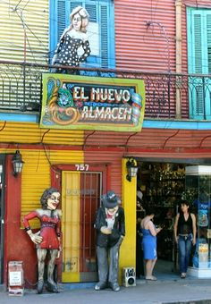 Visit the colourful neighbourhood of La Boca - just stick to the main streets though! Some parts of this area are not suitable for foreigners, but the colourful parts are a must-see. Southern Cone, Drake Passage, Piazza Navona, Atlantic Ocean, Our World, Main Street, Us Travel, South America, Patagonia