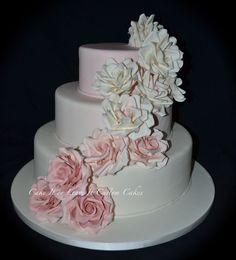 wedding cake ombre