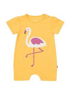 474bf8fe3b  HouseofFraser - Kite Baby Girls Flamingo Romper