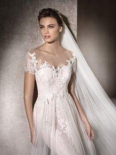 Flared wedding dress Mar