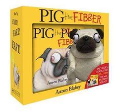 Pig the Fibber + Farting Plush boxed set