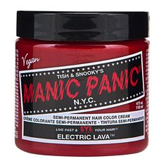 Semi-permanent  Classic - lasts up to 4-6 weeks  Amplified - lasts up to 6-8 weeks  Free 1 Bleach Set  4fl oz / 118ml Cream Formula Semi-Permanent Hair Color. Vegan Formula colors and conditions hair.  Guilt-Free Glamour™- Tested on celebrities not animals. Manic Panic® Hair Color is made from vegan ingredients and has the added benefit of conditioning the hair. Manic Panic® Hair Color is PPD free! Ammonia-free and Peroxide-free! MADE IN THE U.S.A.  ☠ HOW TO USE …