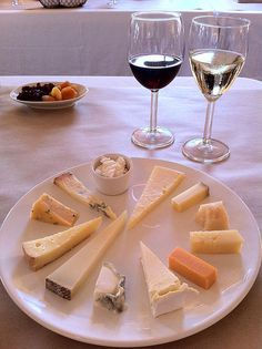 Cheese and Wine...a perfect pairing.