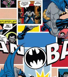 Licensed Cotton Print-Batman Jokers Comic Strip