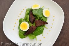 Baby Spinach, Avocado Toast, Html, Salad Recipes, Eggs, Breakfast, Food, Morning Coffee, Essen